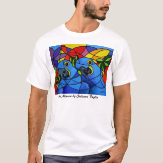 T-shirt Blue Macaw - Camiseta Arara Azul