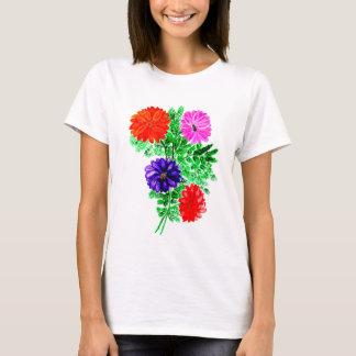 T-shirt Bouquet des fleurs Art2