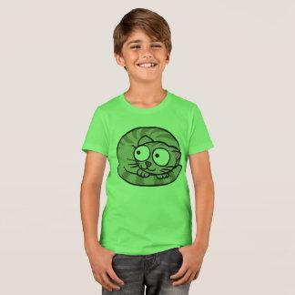 T-Shirt Boy Cat  Short sleeves Animal