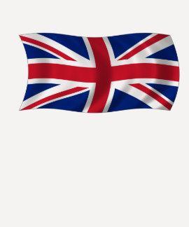 T-shirt britannique de drapeau d'Union Jack