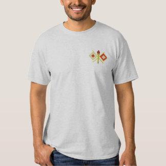 T-shirt Brodé Corps de signal