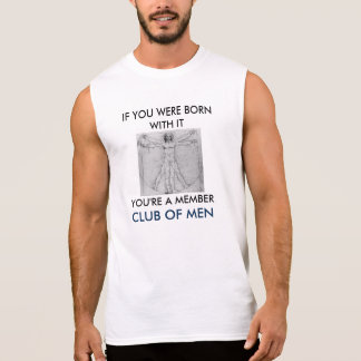 T-SHIRT BY FOR THE BORN MALE AND DARN PROUD OF IT!