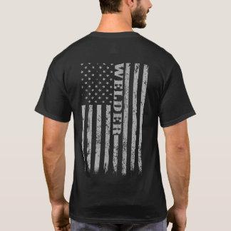 T-shirt Cadeau fier décontracté vintage de soudeuse de