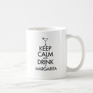 T-shirt calme de margarita de séjour tasse