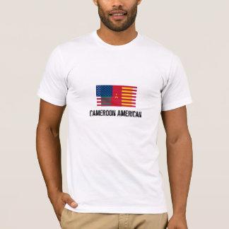 T-Shirt Cameroon America Flag