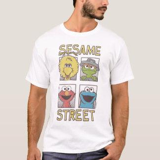 T-shirt Caractère 2 comiques de StreetVintage de sésame