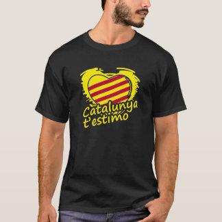 T-shirt Catalonia T´estimo