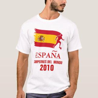 T-shirt Champions du monde de l'Espagne