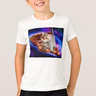 T-shirt chat de pizza - chats mignons - minou - chatons