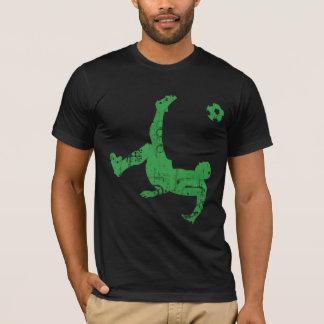T-shirt Chemise de coup-de-pied de bicyclette du football