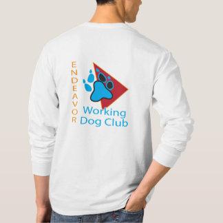 T-shirt Chemise de douille de logo de club de chien
