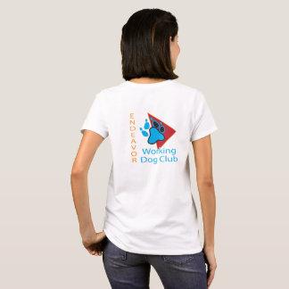 T-shirt Chemise de douille de short de logo de club de