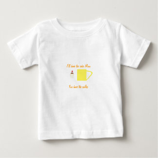 T-Shirt coffee and Cup Cake