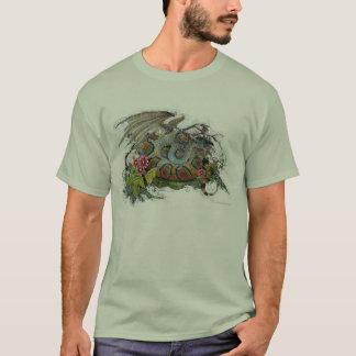 T-shirt - Coiled Snake Dragon