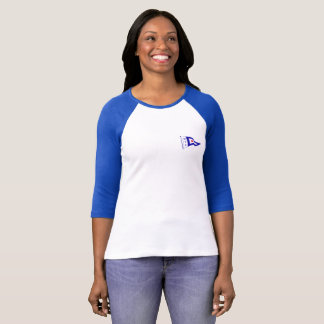 T-shirt - Colored Sleeves