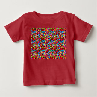 T-shirt coloured candies.