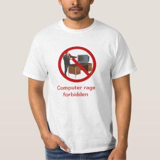 T Shirt - Computer rage