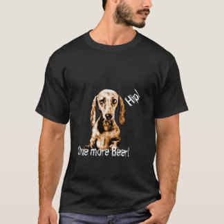 T-shirt cotton Doxie man