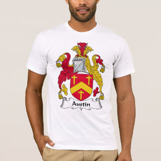 T-shirt Crête de famille d'Austin