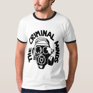 T-shirt Criminal The Minds of man, Black Target/