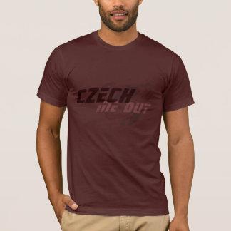 T-shirt Czech ME out
