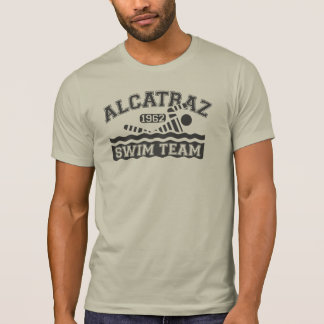 T-shirt d équipe de natation d Alcatraz