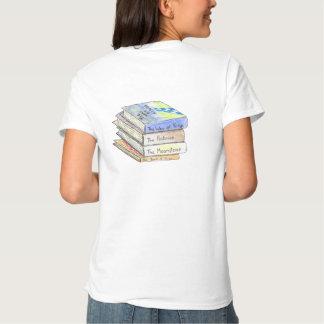 T-shirt d'amoureux des livres