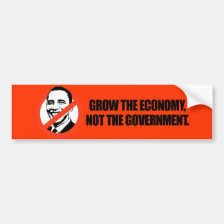 T-shirt d'Anti-Obama - élevez l'économie Autocollant De Voiture