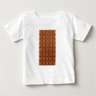 T-shirt d'arrière - plan de barre de chocolat