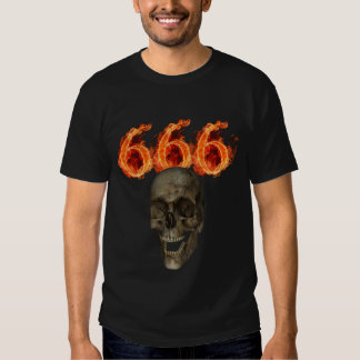 T-shirt de 666 crânes