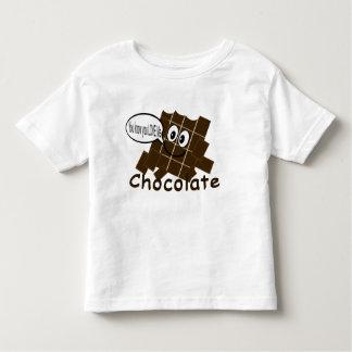 T-shirt de barre de chocolat