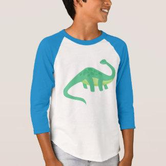 T-shirt de base-ball de Dino-Acarides