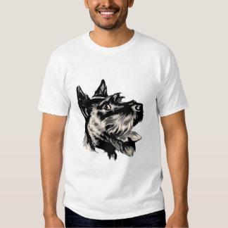 T-shirt de chien de Scotty