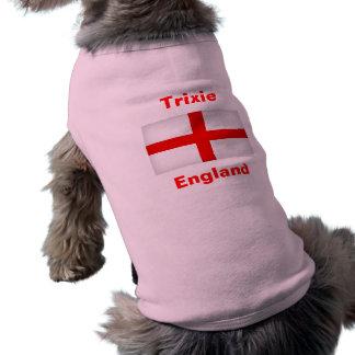 T-shirt de conception de drapeau de chien de fan d t-shirt pour animal domestique