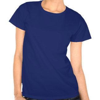 T-shirt de conception de mod de la moitié du
