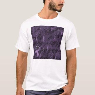T-shirt de conception graphique de conscience de