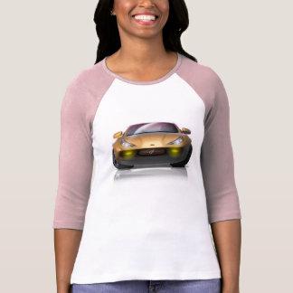 T-shirt de dames de coup de Razzy