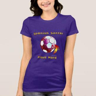 T-shirt de dames de Sunball du football de