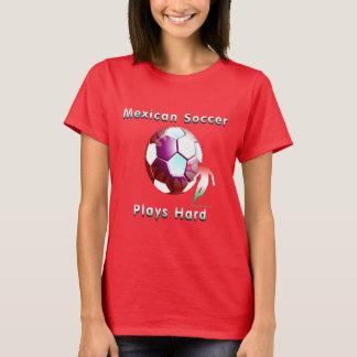 T-shirt de dames de Sunball du football de Mex