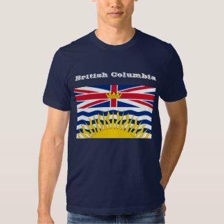 T-shirt de drapeau de Colombie-Britannique