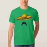 T-shirt de fiesta de Cinco De Mayo de moustache et