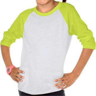 T-shirt de fille de chien-chat de duo