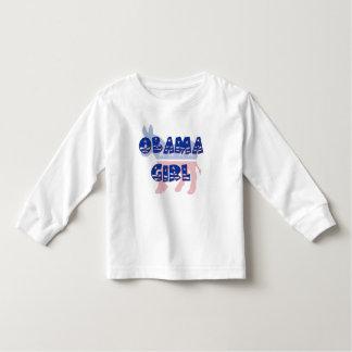 T-shirt de fille d'Obama