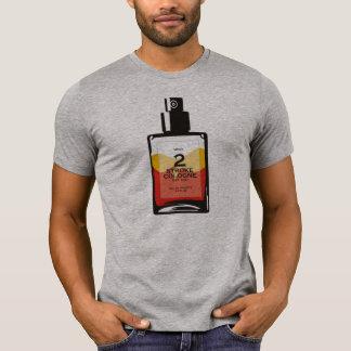 """T-shirt de gris de Cologne"""" Heather de """"2 courses"""