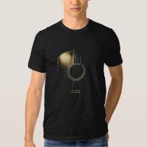 T-shirt de guitare acoustique (voir svp la