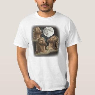 T-shirt de Jésus de lune