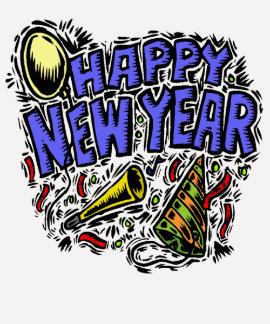 T-shirt de la partie de nouvelle année