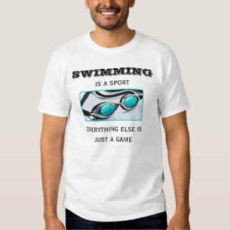T-shirt de Ladie de natation