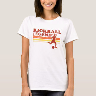 T-shirt de légende de Kickball (dames)
