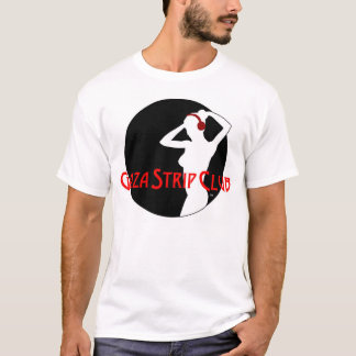 T-shirt de logo de club de striptease de Gaza